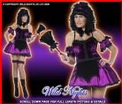 HALLOWEEN FANCY DRESS # GOTHIC HOUSEKEEPER SM SIZE 8-10